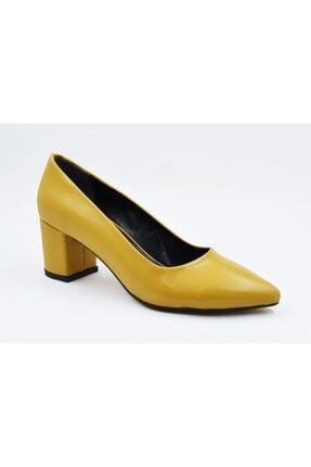Kadın Sarı Topuklu Ayakkabı ST00688