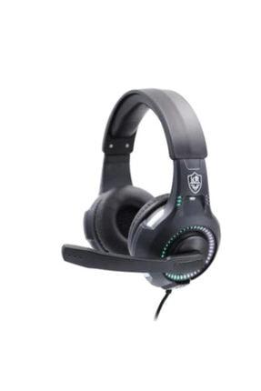 KR Siyah Miofonlu Kulaküstü Oyun Kulaklığı Rgb Light -gm401 0