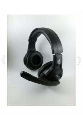 KR Siyah Miofonlu Kulaküstü Oyun Kulaklığı Rgb Light -gm401 1