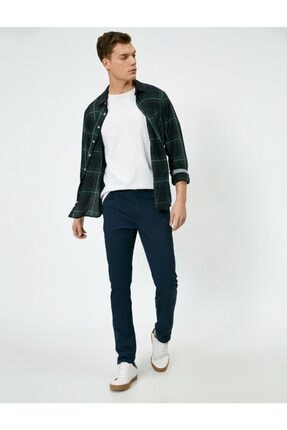 Koton Cep Detayli Slim Fit Pantolon 0