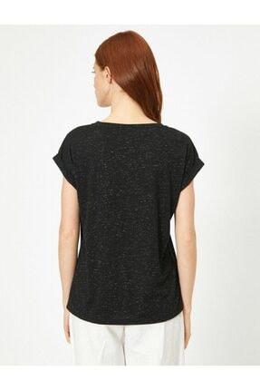 Koton Kadın Siyah Tshirt 0yak13582yk 2