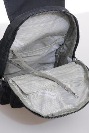 Smart Bags Smbk1138-0089 Füme Kadın Sırt Çantası 3