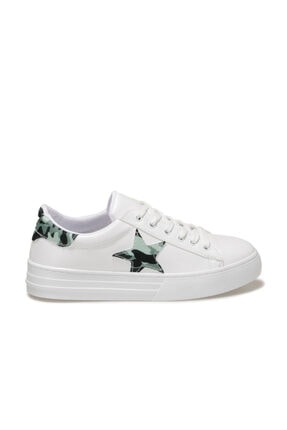 Butigo GİNEBRA Beyaz Kadın Havuz Taban Sneaker 100666763 1