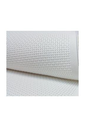 METİNLER EV TEKSİLİ Etamin Seccade Kumaşı Beyaz 75x125 Cm 0