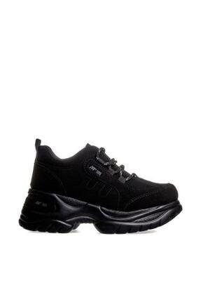 MP Kadın Dolgu Topuk Siyah Casual Ayakkabı 192-305zn 100 0