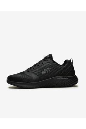 Skechers Bounder - Verkona Erkek Siyah Ayakkabı 232004 Bbk 0