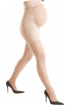 DAYMOD ÇORAP Dore Kadın Ten Rengi Fit 15 Hamile Külotlu Çorap 0