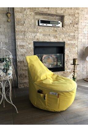 Pufumo Sarı Golf Armut Koltuk 1