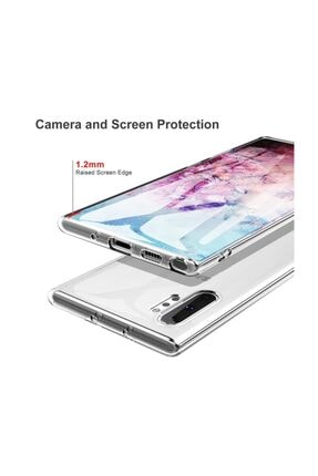 Kılıfist Samsung Galaxy Note 10 Plus Kılıf Süper Silikon Kamera Korumalı 4