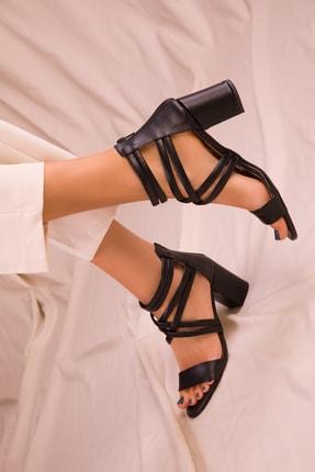 Soho Exclusive Sıyah Kadın Klasik Topuklu Ayakkabı 14670 1