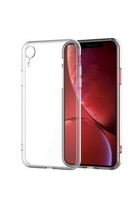 Telehome Iphone Xr Şeffaf Kılıf Kamera Korumalı Şarj Yeri Tıpalıdır 0