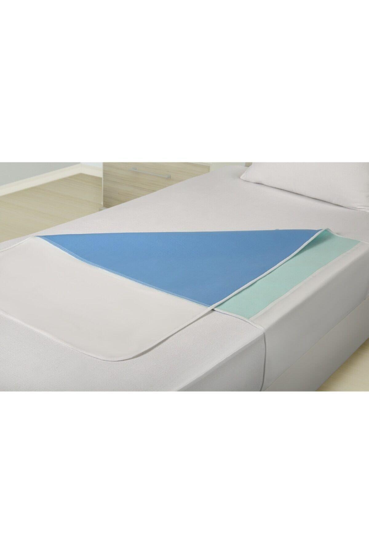 Abso 5 Katlı Emici,sıvı Geçirmez,yıkanabilir Kanatlı Yatak Koruyucu (75X90 CM)