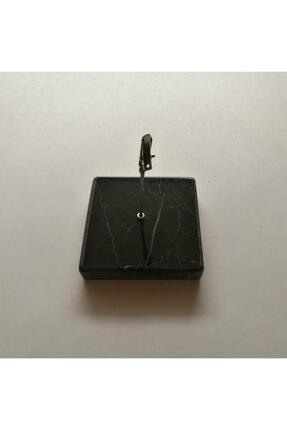 Mermer Not Ve Kağıt Tutacağı (Siyah) NT06
