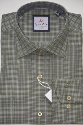 Gömlek Klasik Uzun Kol Kareli SED333