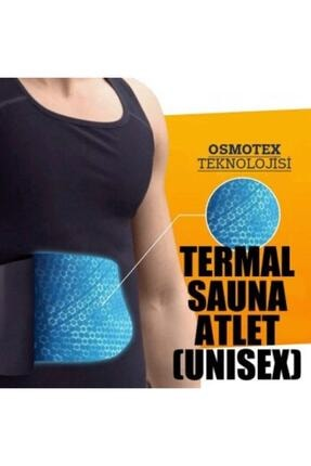 Dr. Cornell Erkek Termal Sauna Pro Termal Sauna Atlet Sauna Etkili Terleme Atleti Ince Kumaş 1