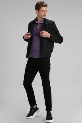 Lufian Paul Smart Jean Pantolon Slim Fit Siyah 2