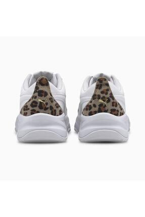 Puma CILIA MODE LEO Beyaz Kadın Sneaker Ayakkabı 100660669 3