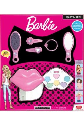 Uçar Barbie Oyuncak Dudak Makyaj Seti 2
