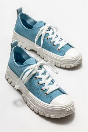 Elle Kadın Mavi Spor Ayakkabı 1