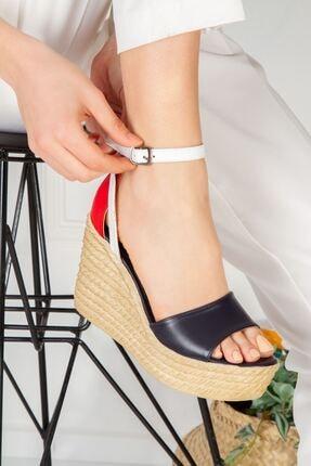 derithy Kadın Vinle Dolgu Topuklu Ayakkabı  1-lzt0590 2