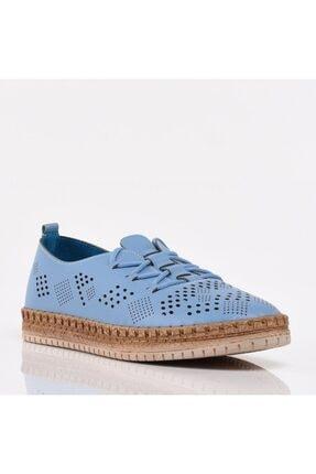 تصویر از Açık Mavi Yaya Kadın Günlük Ayakkabı