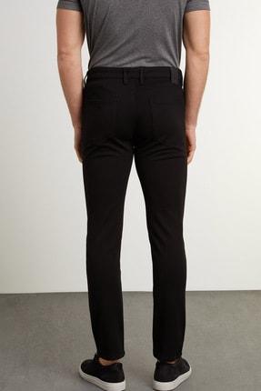Network Erkek Slim Fit Siyah Casual Pantolon 1079175 2