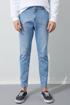 Koton Erkek Açık İndigo Jeans 2