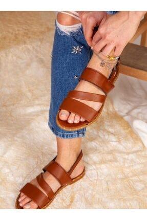 ayakkabıhavuzu Sandalet - Taba - Ayakkabı Havuzu 0