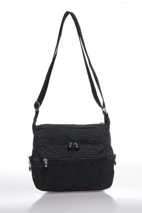 Smart Bags Smbk1056-0091 Puantiyeli/siyah Kadın Çapraz Çanta 2