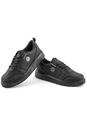 L.A Polo Erkek Spor Ayakkabı Siyah 2