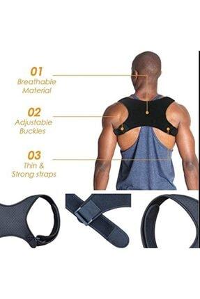 Ankaflex Kamburluk Önleyici Posturex Manyetik Dik Duruş Korsesi Ayarlanabilir Yeni Nesil Dik Durma Aparatı 1