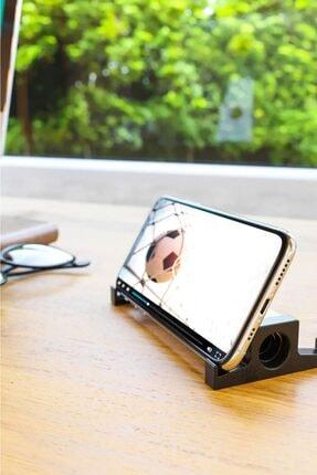 Pazarika Ahşap Akustik Telefon & Tablet Standı. Ses Artırma Ve Sese Akustik Katma 1