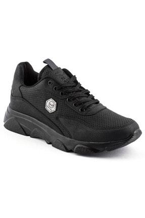 L.A Polo 135 Siyah Siyah Erkek Spor Ayakkabı 0