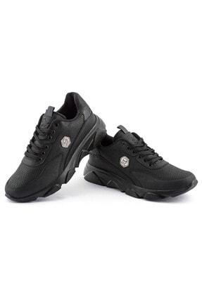 L.A Polo 135 Siyah Siyah Erkek Spor Ayakkabı 2
