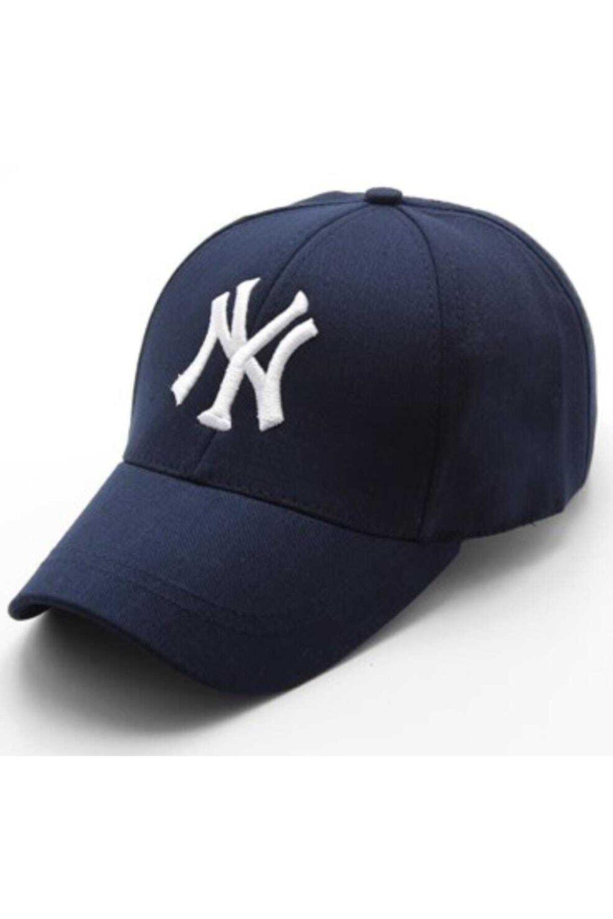 Unisex Lacivert Şapka