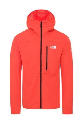 The North Face Erkek  Summit L2 Fleece Kapüşonlu Sweatshirt Kırmızı 0