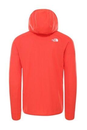 The North Face Erkek  Summit L2 Fleece Kapüşonlu Sweatshirt Kırmızı 1