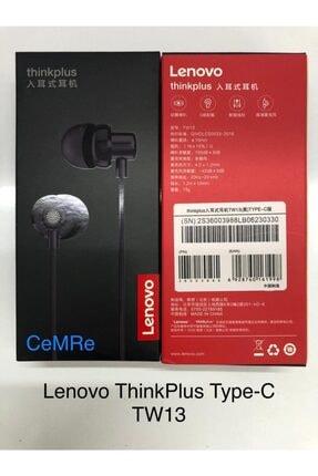 LENOVO Thinkplus Tw13 Type-c Kablolu Mikrofonlu Kulaklık 0