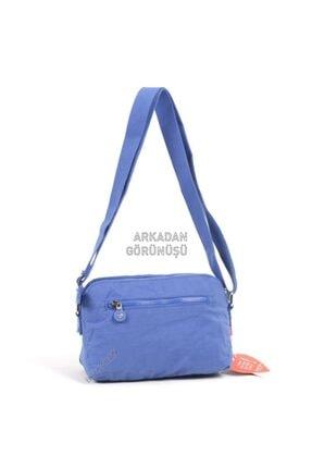 Smart Bags Küçük Boy Postacı Kadın Çantası 3002 Mavi 1