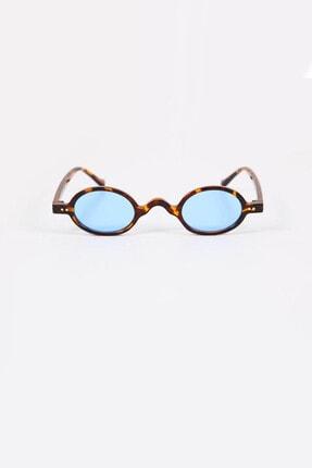 Kapin Küçük Leopar Çerçeveli Mavi Güneş Gözlüğü 0