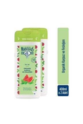 Le Petit Marseillais Organik Karpuz Ve Fesleğen Duş Jeli 400 ml X2 1