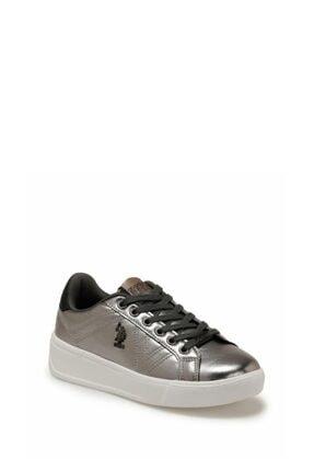 US Polo Assn Kadın Silver Bağçıklı Günlük Ayakkabı 100551351 1