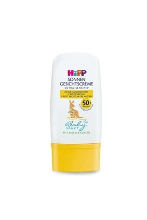 Hipp Babysanft Güneş Kremi-yüz Için 50 Faktör 30 ml 0