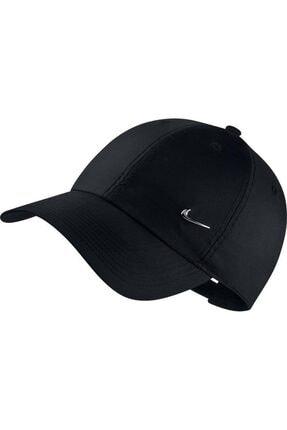 Nike Metal Swoosh Unisex Siyah Şapka 943092-010 0