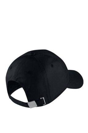 Nike Metal Swoosh Unisex Siyah Şapka 943092-010 1