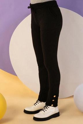 NARE Kadın Triko Siyah Pantolon Kazak Takım 2