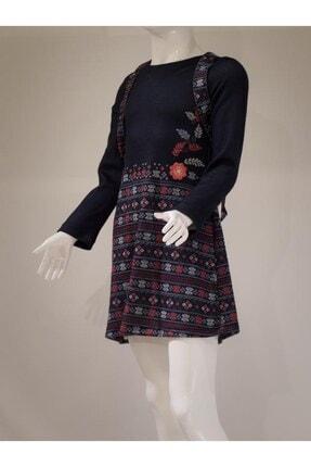 Kız Çocuk Lacivert Elbise DT-7930