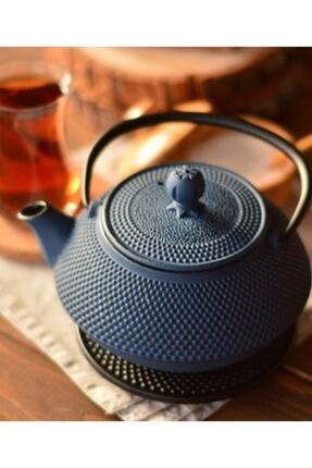Bambum T0077 Linden Sümbül 750 ml Gök Mavi Döküm Çaydanlık 1