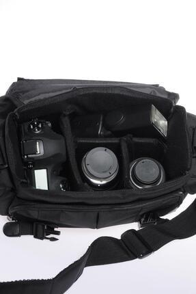 ÇÇS 30471 Siyah Unısex Fotoğraf Makinası Çantası 3