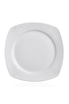 KORKMAZ Mona Collection 60 Parça Kare Yemek Takımı 3